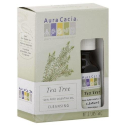 : Aura Cacia, Essential Oil, Tea Tree, .5 oz