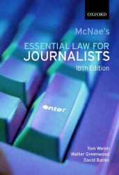 Tom Welsh: McNae's Essential Law for Journalists