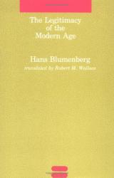 Hans Blumenberg: The Legitimacy of the Modern Age