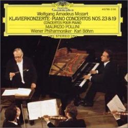 Mozart - Concertos pour piano Nos 19 & 23: M. Pollini - K. Böhm - Philarmonique de Vienne