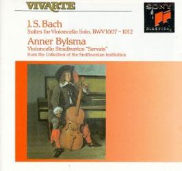 Bach JS - Suites pour violoncelle: Anner Bylsma