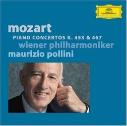 Mozart - Concertos pour piano et orchestre N°17 (K. 453) & N°21 (467): Maurizio Pollini (piano et direction d'orchestre) - Orchestre Philhamronique de Vienne