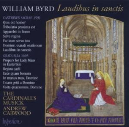 Byrd William : Laudibus in sanctis: The Cardinal's Musick - Andrew Carwood
