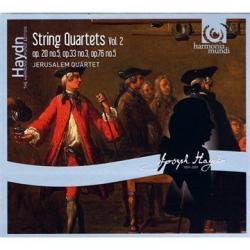 Haydn Joseph - Quatuors a cordes op.20 n° 5, op.33 n° 3 & op.73 n° 5: Jesrusalem Quartet
