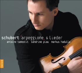 Schubert : Arpeggione et Lieder: Antoine Tamestit (alto) - Sandrine Piau (soprano) - Markus Hadulla (piano)