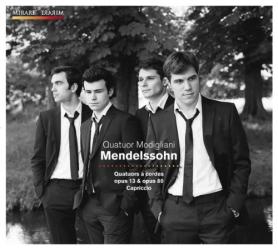 Felix Mendelssohn - Quatuors A Cordes Op.13 & 80. Capriccio Op.81 N°3: Quatuor Modigliani