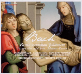 Bach JS - Passion selon Saint Jean: Ricercar Consort - Direction Philippe Pierlot