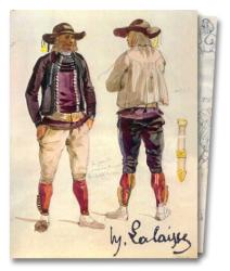 Jean Cuisenier: François Hippolyte Lalaisse : Aquarelles et dessins