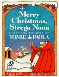 Tomie dePaola: Merry Christmas, Strega Nona (Voyager Books)