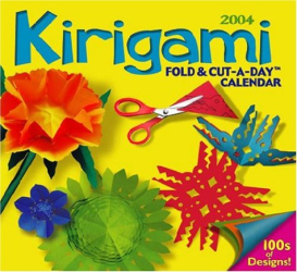 Jeff Cole: 2004 Kirigami Fold & Cut-A-Day Calendar