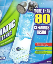 : The Scrubbing Bubbles® Automatic Shower w/ 4 34oz Bottles Included