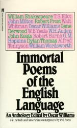 Oscar Williams ed.: Immortal Poems of the English Language