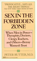 Peter MD Rutter: Sex in the forbidden Zone