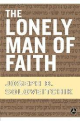 : The Lonely Man of Faith