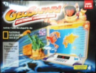 : Geo Safari Electronic Learning Game