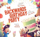 Tom Chapin: The Backwards Birthday Party