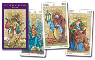 Lo Scarabeo: Universal Wirth Tarot (Tarot of the Angels Tarot of the Angels Deluxe)