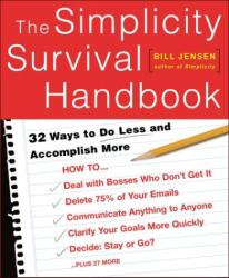 Bill Jensen: The Simplicity Survival Handbook