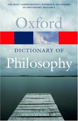 Simon Blackburn: The Oxford Dictionary of Philosophy (Oxford Paperback Reference S.)