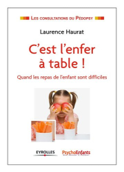 Laurence Haurat et Anne Krispil: C'est l'enfer à table ! : Quand les repas de l'enfant sont difficiles
