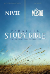 : NIV | The Message - Parallel Study Bible