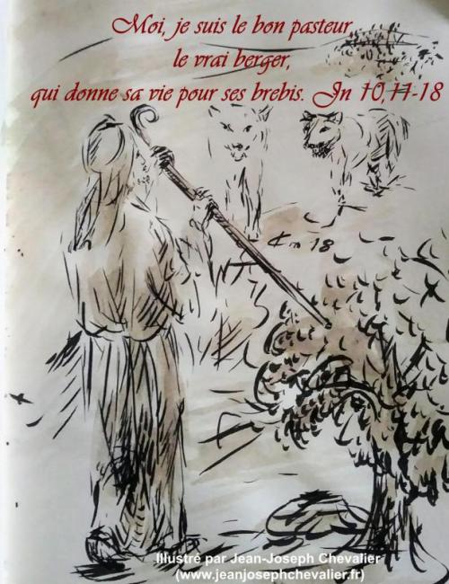 22-avril-2018-evangile-du-jour-illustre-par-un-dessin-au-lavis-de-jean-joseph-chevalier-image