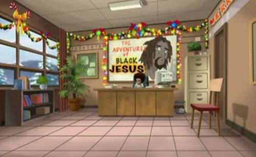 Black Jesus cel