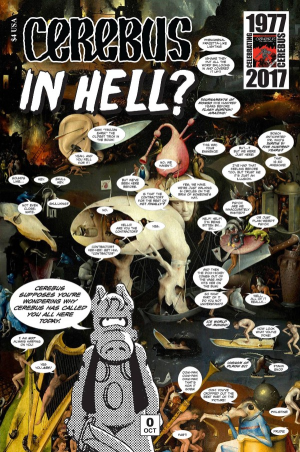 Cerebus in Hell cover