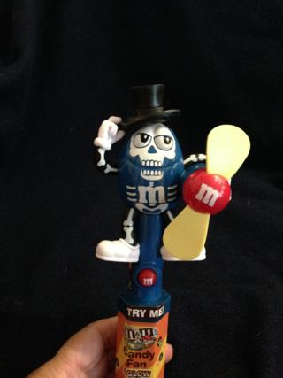 He's a skeleton fan!