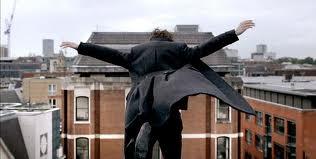 Sherlock jumps