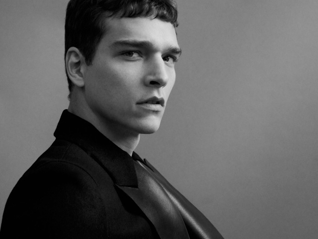 FEATURED MODEL Alexandre Cunha in Gucci Leather for Buonomo & Cometti. www.imageamplified.com, Image Amplified