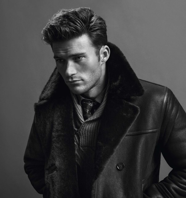 CAMPAIGN Scott Eastwood & Edie Campbell for Hugo Boss Fall 2014 by Inez & Vinoodh. Joe McKenna, www.imageamplified.comm, Image Amplified