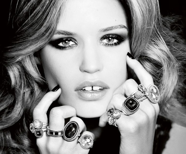 CAMPAIGN Gerogia May Jagger for Thomas Sabo 2014 by Ellen von Unwerth. www.imageamplified.com, Image Amplified