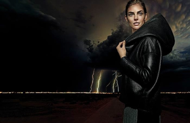 CAMPAIGN Hilary Rhoda for Elie Tahari Fall 2014 by Steven Klein. www.imageamplified.com, Image Amplified