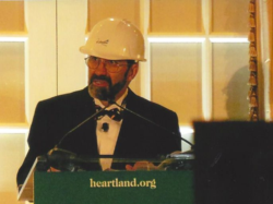 Heartland Benefit - Joe Bast in hard hat