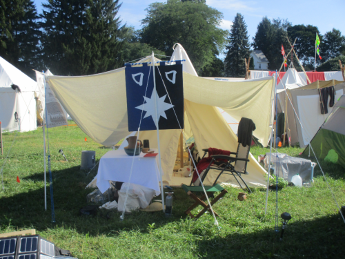 pennsic xlv camp