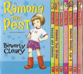 Beverly Cleary: Ramona Complete 8-Book Set: Ramona the Pest; Beezus and Ramona; Ramona the Brave; Ramona and Her Father; Ramona and Her Mother; Ramona Quimby, Age 8; Ramona Forever; and Ramona's World