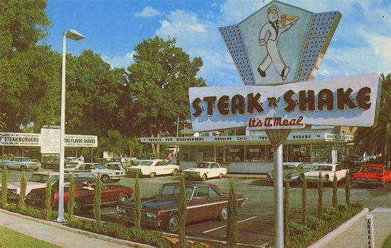 """""""Steak & Shake"""" beats """"Shake & Bake,"""" don't you agree?"""