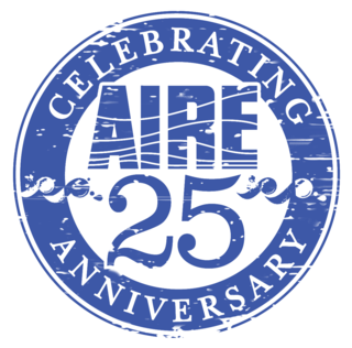 AIRE-25-years-blue