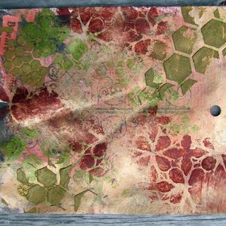 Altered Paper by Lynne Forsythe