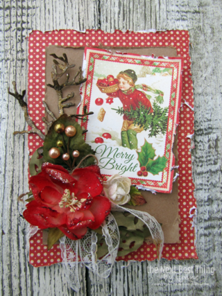 Merry & Bright Card by Lynne Forsythe