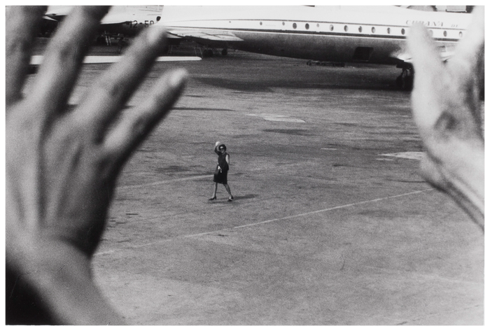 De la serie Exilio. Olga  La Habana  1967  by Jose A. Figueroa