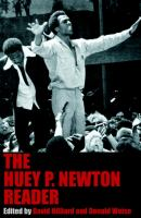 The Huey P. Newton reader The first comprehensive collection of writings by the Black Panther Party founder and revolutionary icon of the black liberation era, The Huey P. Newton Reader combines now-classic texts ranging in topic from the formation of the Black Panthers, African Americans and armed self-defense, Eldridge Cleaver's controversial expulsion from the Party, FBI infiltration of civil rights groups, the Vietnam War, and the burgeoning feminist movement with never-before-published writings from the Black Panther Party archives and Newton's private collection, including articles on President Nixon, prison martyr George Jackson, Pan-Africanism, affirmative action, and the author's only written account of his political exile in Cuba in the mid-1970s. Eldridge Cleaver, Bobby Seale, Angela Davis, Mumia Abu-Jamal, and Geronimo Pratt all came to international prominence through Newton's groundbreaking political activism. Additionally, Newton served as the Party's chief intellectual engine, conversing with world leaders such as Yasser Arafat, Chinese Premier Chou Enlai, and Mozambique President Samora Moises Machel among others.