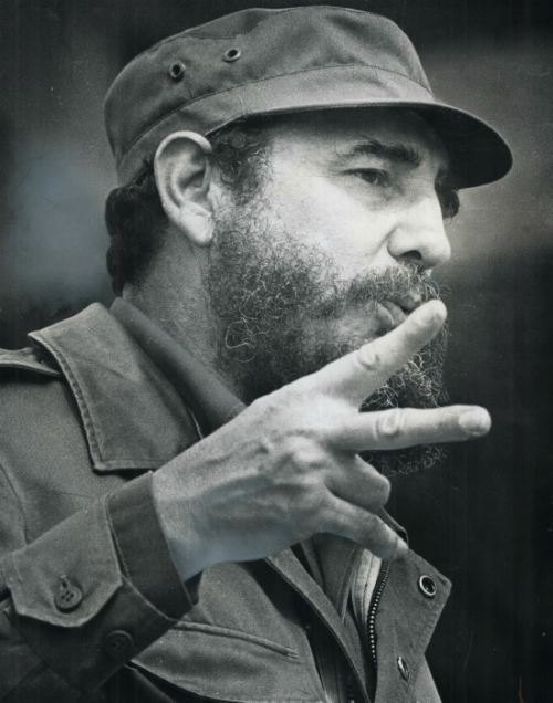 Fidel Castro photo 1976 from the Toronto Star Archives