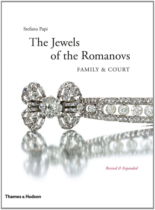 The Jewels of the Romanovs Family and Court:The Romanovs ruled Russia from 1613 to 1917, when the Revolution brought their reign to an end. The late nineteenth and early twentieth centuries were a time of elegance and extravagance for the tsars and the wealthy families with whom they were linked by marriage, and nowhere are these lavish tastes more apparent than in the imperial jewels.