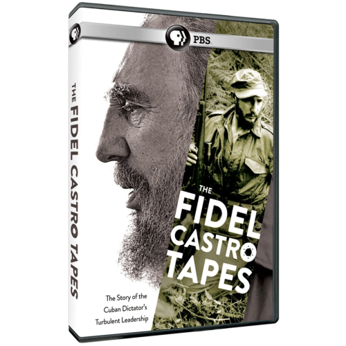 Fidel Castro Tapes PBS documentary DVD In 1959, Fidel Castro rose to power in Cuba. He has been one of the most controversial figures in the world ever since. This chronicles the Cuban leader's ability to maintain control through ongoing tumult in his country, and in his dealings with the United States and the rest of the world.