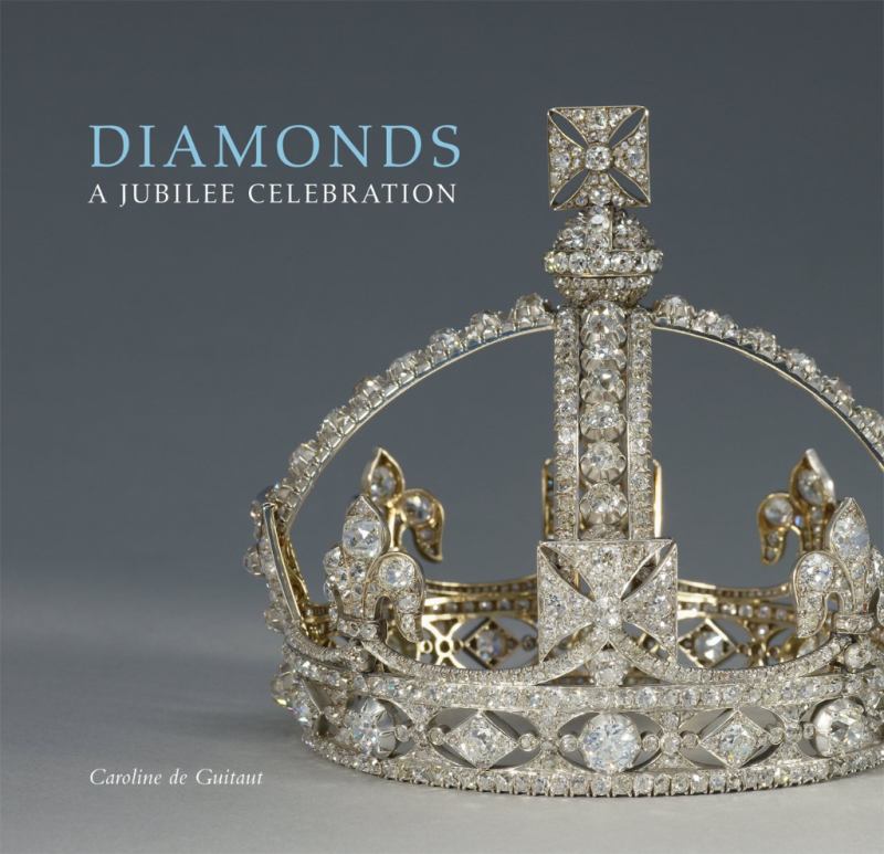 Diamonds A Jubilee Celebration by Caroline de Guitaut: From jewelry of the highest quality and finest craftsmanship to gemstone-laden tiaras and diamond-encrusted swords, this accessible volume presents a visually stunning selection of diamonds from among the Royal Collection's awe-inspiring array.