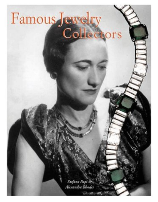 Famous jewelry collectors: For many centuries precious jewels were only collected by kings and queens, emperors, popes and maharajahs. But during the 20th century, movie goddesses, opera singers, industrialists, real-estate investors and rock stars have joined those with the means to deck themselves in glittering bracelets and rings, necklaces and earrings. This work shows the collections of such society women as Daisy Fellowes and Barbara Hutton, aristocrats such as Umberto II of Italy and Her Royal Highness the Princess Royal (Princess Mary) of Great Britain, and of stars from the world of entertainment, like Merle Oberon, Joan Crawford and Ava Gardner.