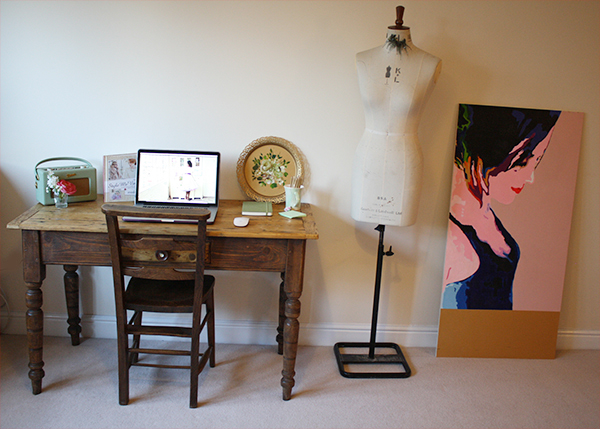 Where the magic happens - the Love My Dress office a work in progress