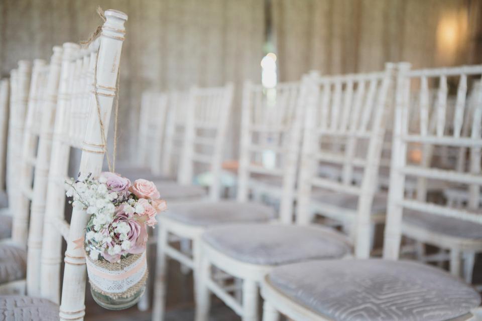 Muscari by Jenny Packham // Newton Hall Northumberland Wedding // Mirrorbox Photography